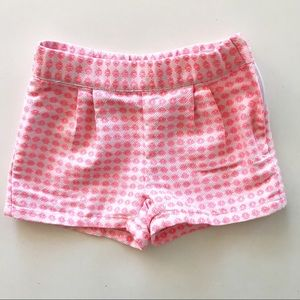 Janie and Jack Little Girl's Coral Shorts